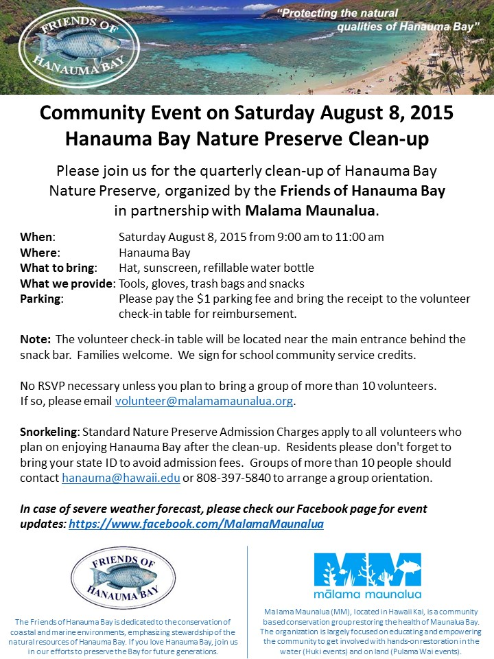 FOHB Quarterly Cleanup - 2015-08_V2